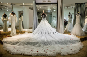 Địa chỉ may và cho thuê váy cưới đẹp nhất Hải Phòng