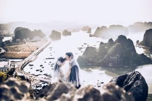 địa diểm chụp ảnh cưới đẹp và lãng mạn nhất tại Quảng Ninh