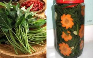 Món dưa chua dễ làm, chống ngán trong mỗi bữa cơm