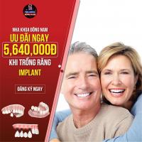 Nha Khoa Đông Nam ưu đãi 20% chi phí Cấy Ghép Răng Implant ETK Active