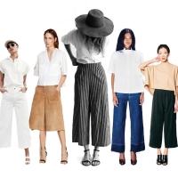 Gợi ý chọn và phối đồ với quần culottes cực đẹp