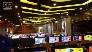 Dịch vụ tư vấn thiết kế phòng net (game) chuyên nghiệp nhất Hà Nội