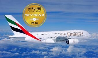 Hãng hàng không tốt nhất thế giới năm 2016