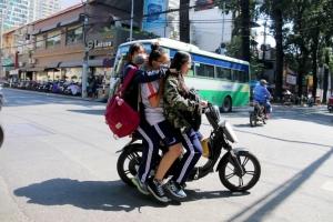 Hành vi nguy hiểm khi tham gia giao thông thường gặp