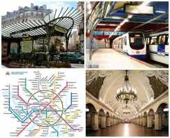 Hệ thống tàu điện ngầm lớn nhất thế giới
