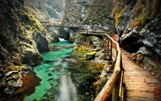 Con đường mòn trên núi đẹp nhất thế giới