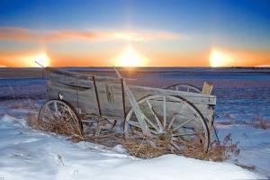 Hiện tượng thiên nhiên độc đáo chỉ có vào mùa đông