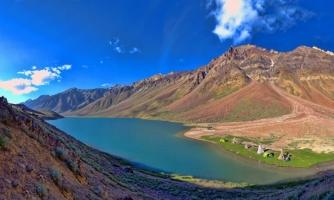 Hồ nước đẹp kỳ diệu trên dãy núi Himalayas