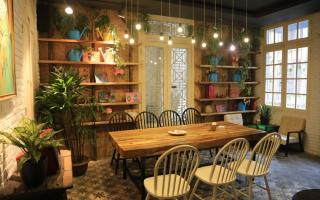 Quán cafe hoa lãng mạn nhất Hà Nội