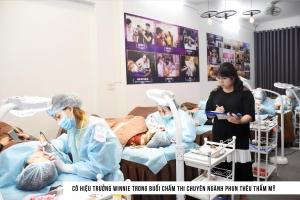 Top 10 địa chỉ đào tạo nghề phun xăm thẩm mỹ uy tín nhất Hà Nội