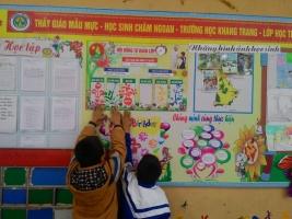 Hướng dẫn trang trí lớp học thân thiện ở bậc tiểu học đẹp nhất