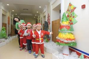 Hướng dẫn trang trí Noel cho lớp học mầm non đẹp nhất