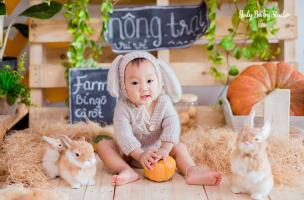 Studio chụp ảnh bé đẹp và chất lượng nhất Mê Linh, Hà Nội