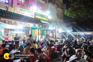 Khu ăn vặt giá rẻ ở Sài Gòn