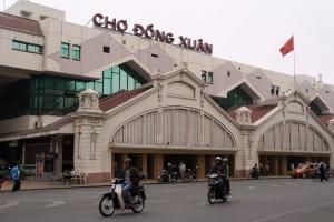 Khu chợ nổi tiếng nhất Hà Nội