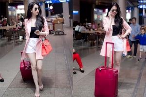 Kiều nữ Việt Nam có gu thời trang sân bay đẹp nhất