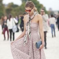 Cách thắt khăn quàng cổ đẹp nhất cho phái nữ