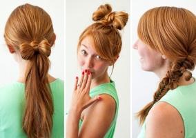 Kiểu tóc đẹp dễ làm nhất cho các bạn gái