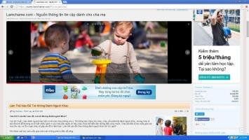 Trang web hữu ích nhất dành riêng cho người làm mẹ
