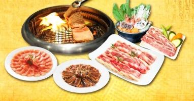 Quán buffet lẩu kiểu Hàn sang chảnh giá trên 200.000 đồng tại Hà Nội.
