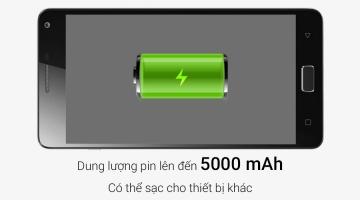 Smartphone dưới 6 triệu có pin