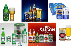 Loại bia được ưa chuộng nhất tại Việt Nam hiện nay