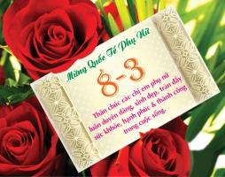 Lời chúc hay và ý nghĩa nhất ngày 8/3 dành tặng một nửa thế giới