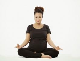 Lợi ích của ngồi thiền đối với sức khỏe bà bầu
