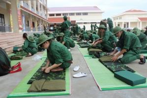 Lưu ý quan trọng dành cho sinh viên khi đi học quân sự