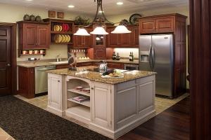 Mẫu kệ bếp gỗ đẹp được ưa chuộng nhất hiện nay