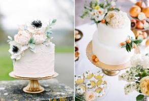 Mẫu bánh kem đám cưới đẹp và ấn tượng nhất năm 2018