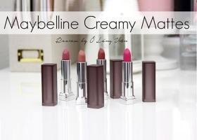 Màu son đẹp nhất của Maybelline color sensational creamy matte