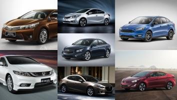 Mẫu xe ô tô hạng C bán chạy nhất tính đến Tháng 10/2016