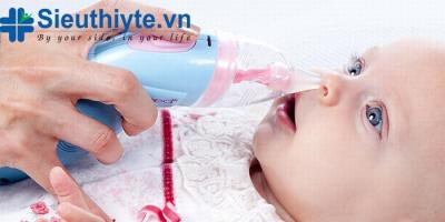 Máy hút mũi cho bé an toàn và hiệu quả nhất hiện nay