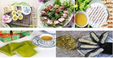 Món ăn đặc sản gắn liền với tên của 5 vùng
