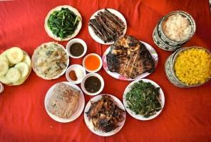 Món ăn đặc trưng có trong đám cưới Tây Bắc