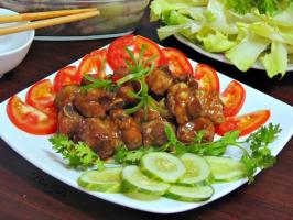 Món ăn ngon, hấp dẫn nấu tại nhà cả nhà thích mê.