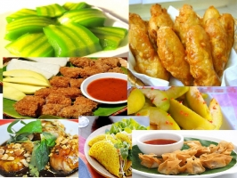 Món ăn vặt hấp dẫn nhất Sài Thành
