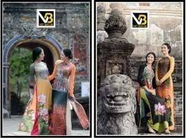 Nét đặc trưng của thương hiệu áo dài Viết Bảo Qb - gương mặt thiết kế nổi bật nhất trong các kỳ lễ hội Festival Huế