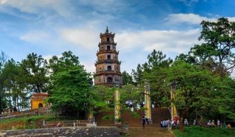 Ngôi chùa đẹp nhất ở Huế
