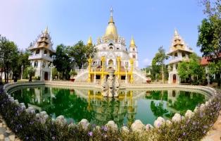 Ngôi chùa có kiến trúc đẹp nhất TP. HCM