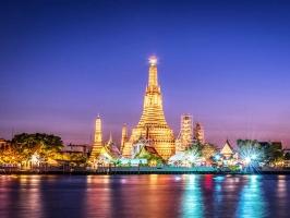 Ngôi chùa nổi tiếng linh thiêng ở Bangkok, Thái Lan