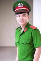 Soái ca công an đẹp trai nhất Việt Nam