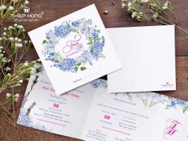Nhà cung cấp thiệp cưới đẹp, phong cách tại Hồ Chí Minh