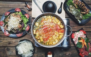 Nhà hàng ẩm thực Thái Lan hấp dẫn ở Hà Nội