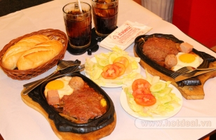 Nhà hàng Beef Steak ngon nhất ở TP. Hồ Chí Minh