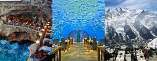 Nhà hàng có view đẹp nhất trên thế giới