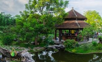 Nhà hàng sinh thái đậm chất thiên nhiên ở Hà Nội
