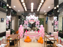 Nhà hàng tổ chức sinh nhật lý tưởng nhất tại Hà Nội