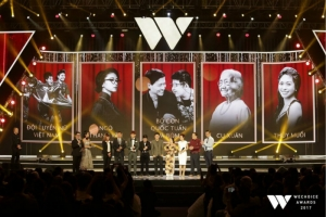 Nhân vật truyền cảm hứng năm 2017 tại WeChoice Awards